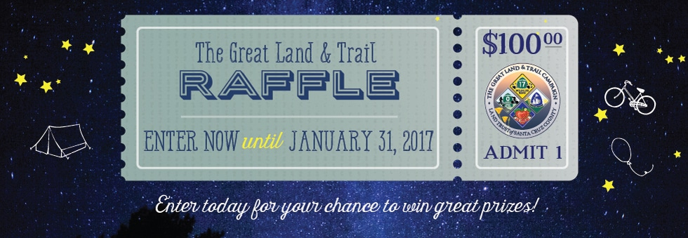 The Great Land & Trail Raffle