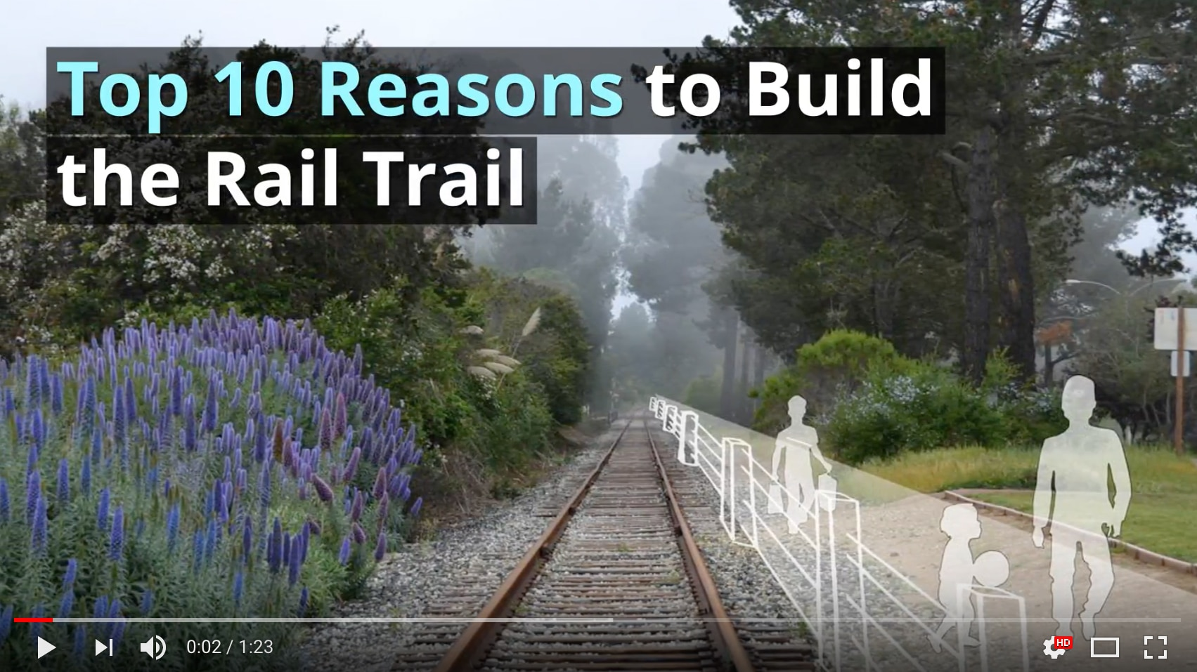 Top 10 Reasons To Build The Rail Trail